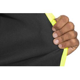 Castelli Fondo Full Zip Jersey Men light black/yellow fluo